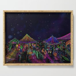Magical Night Market Serving Tray