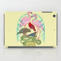 anatomy iPad Cases featuring Wild Anatomy II by Rachel Caldwell