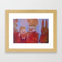 Hlebine Framed Art Print