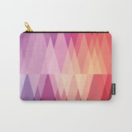 Digital Abstract Carry-All Pouch