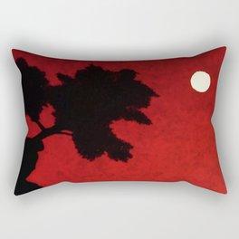 Red Skies at Night Rectangular Pillow