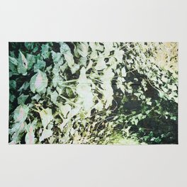 Hosta and Ivy on a Hill Rug