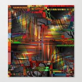 Bio-Digital Canvas Print