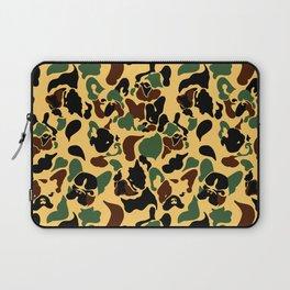 Frenchie Camouflage Laptop Sleeve