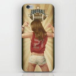 VINTAGE GIRLS - Footnall iPhone Skin