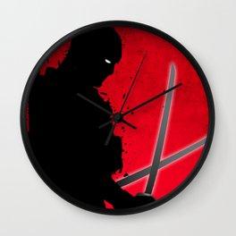 Dead pool Wall Clock