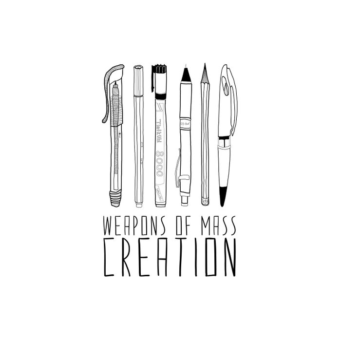 weapons of mass creation Comforters