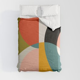 geometry shapes 3 Comforters