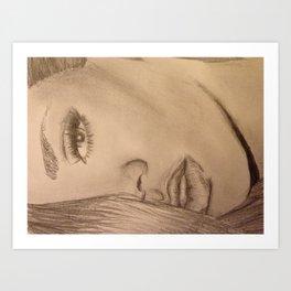 Rihanna Art Print
