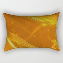 Honey Up Close 1! Rectangular Pillow