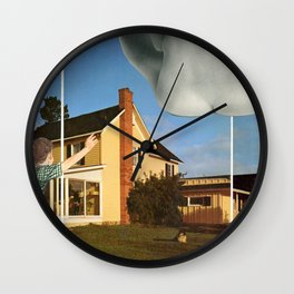 Close Encounters of the Fourth Kind Wall Clock