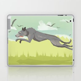 Scottish Deerhound Laptop & iPad Skin