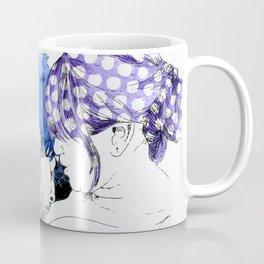 NUDEGRAFIA - 33 Purple Hair Coffee Mug