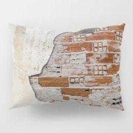 Cracked Facade Pillow Sham