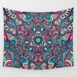 psychedelic ornament Wall Tapestry