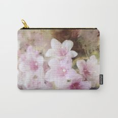 Floral Pink Carry-All Pouch