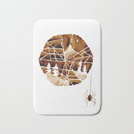 the mountain and the spider Bath Mat
