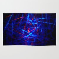 northern lights Area & Throw Rugs featuring Northern Lights by Cs025