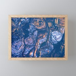 water is an artist II Framed Mini Art Print