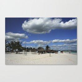 Carribean sea 15 Canvas Print