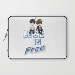 Love is Free Laptop Sleeve