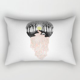 Through Darkness into the Light Rectangular Pillow