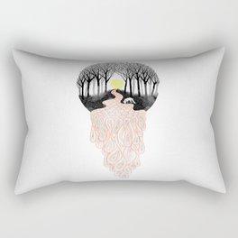 Through Darkness into the Light Rectangular Pillow