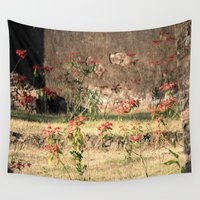 poppy Wall Tapestries featuring Poppy by Four Hands Art