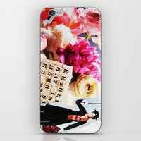 mary poppins iPhone & iPod Skins featuring Mary Poppins by Patti Friday