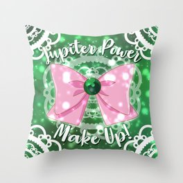 Jupiter Power! Throw Pillow