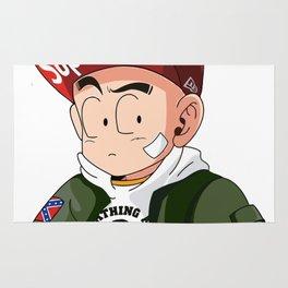 Goku Wearing Bape supreme Rug