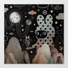 Nighty Night Canvas Print