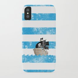 Pirates Love Stripes iPhone Case