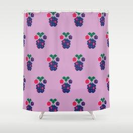 Fruit: Blackberry Shower Curtain