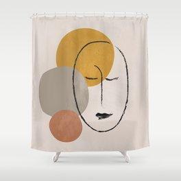 Portrait 2 Shower Curtain