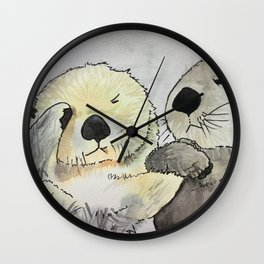 Smoke get in my eyes Wall Clock