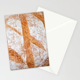 Hand Made Loaf Of Bread Stationery Cards