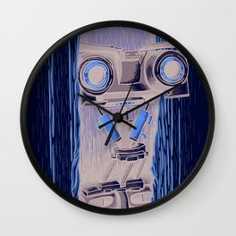 Here's Johnny 5! Wall Clock