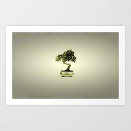 Lonely Bonsai Art Print