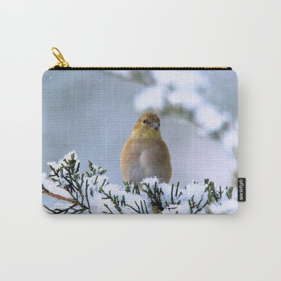 Is This Heaven? (American Goldfinch) Carry-All Pouch