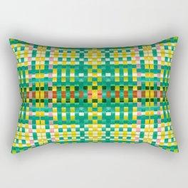 Calypso Tartan / Mango Verde Rectangular Pillow