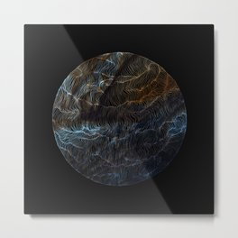 Sail to Jupiter Metal Print