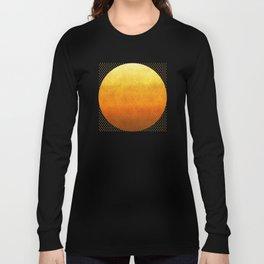 """Sabana Sunset Degraded Polka Dots"" Long Sleeve T-shirt"