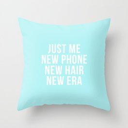 Penthouse - John Legend - Chance the Rapper - Lyrics - Blue version Throw Pillow
