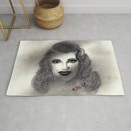 Rita Hayworth Rug