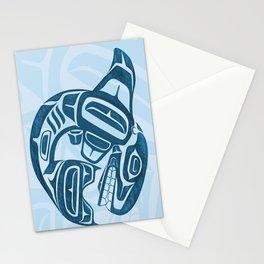 Salish Killer Whale Stationery Cards