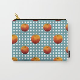 Apple on table Carry-All Pouch