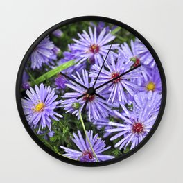 Blossoms of Autumn Wall Clock