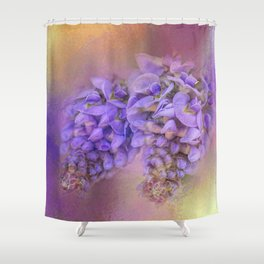 Enticing Wisteria Shower Curtain