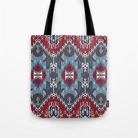 ethnic Tote Bags featuring Ethnic  by Judy Csotsits